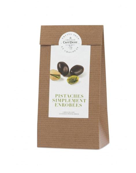 Café-Tasse шам фъстък покрит с шоколад